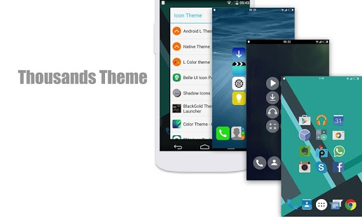 L Launcher PRO – Lollipop Launcher v1.96