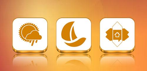 VRS White-Orange Icon Pack v1.0.0