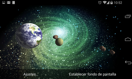 3D Galaxy Live Wallpaper Full v1.82