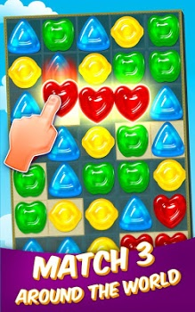 Gummy Drop! – Free Match 3 Puzzle Game v3.8.0