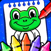 نرم افزار رنگ آمیزی برای کودکان آیکون