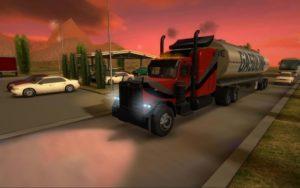 تصویر محیط Truck Simulator 3D v2.1