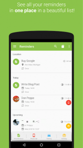 تصویر محیط COL Reminder v3.6.2 build 529