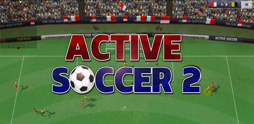 دانود بازی فوتبال اسکور اکتیو Active Soccer 2 برای اندروید