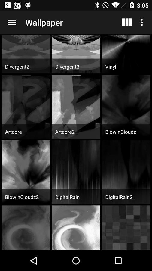 BLACK. – Icon Pack v1.0