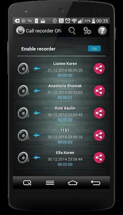 Call Recorder One Touch Full v5.0