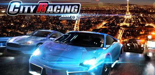 دانلود بازی ماشینی مسابقات شهر City Racing 3D v1.6.033