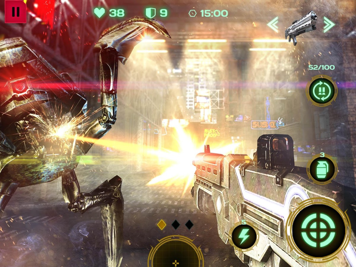 Dead Earth: Sci-fi FPS Shooter v2.0