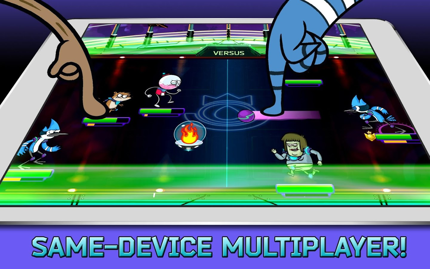 Grudgeball – Regular Show v1.0.2 + data
