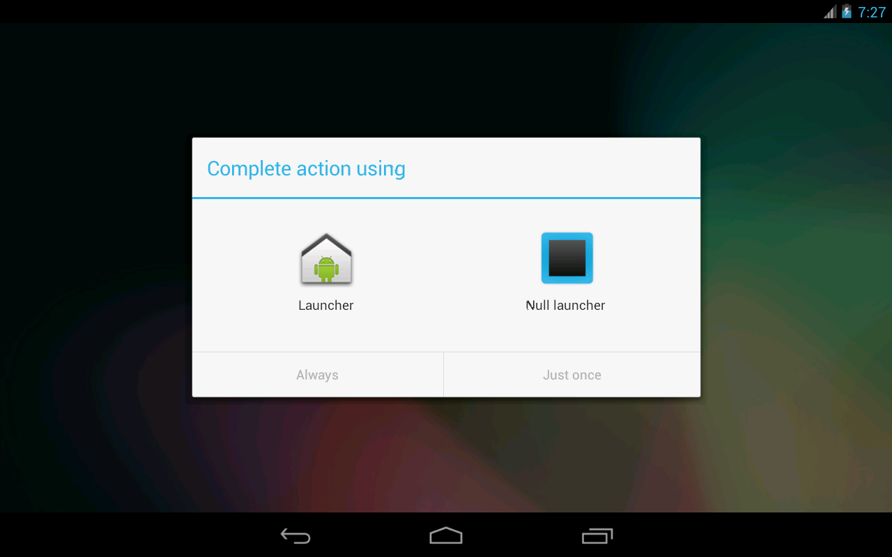 Null Launcher 1.3