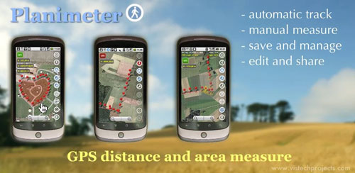 Planimeter – GPS area measure v5.2.1