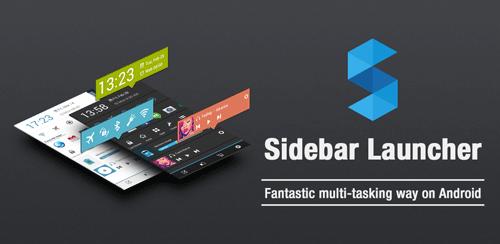 دانلود لانچر ساید بار Sidebar Launcher 3.4