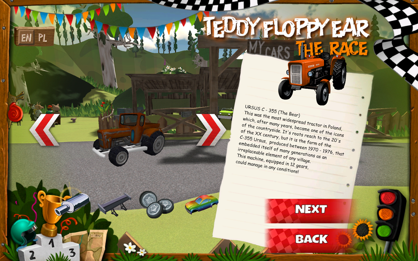 Teddy Floppy Ear: The Race v1.01 + data