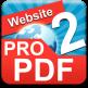نرم افزار تبدیل صفحات وب به پی دی اف Website TO PDF PRO v1.7