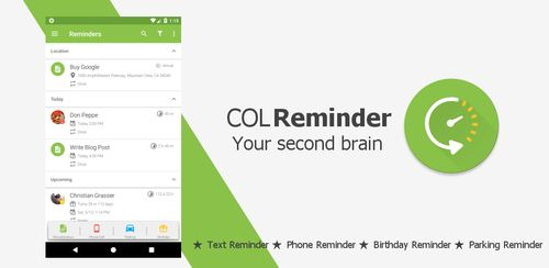 COL Reminder v3.6.2 build 529