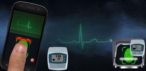 نمایش ضربان قلب در اندروید Blood Pressure Scanner Prank v1.0
