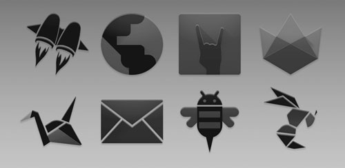 BLACK. – Icon Pack v1.0