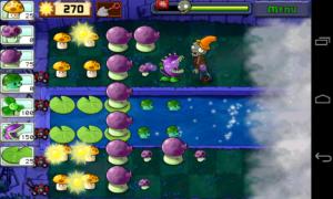 تصویر محیط Plants vs. Zombies FREE v2.4.00
