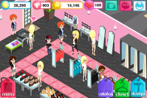 تصویر محیط Fashion Story: Daring Red 1.5.6.7