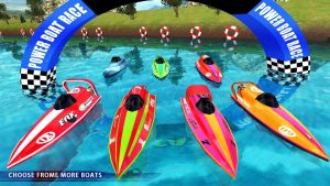 تصویر محیط Powerboat Race 3D v1.4