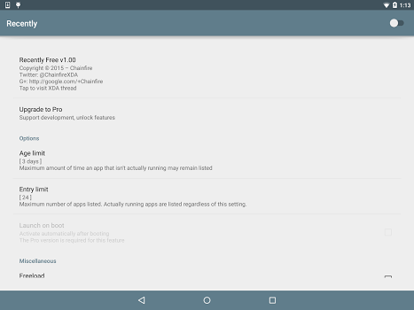 [root] Recently v1.40