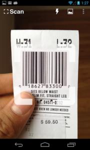 تصویر محیط Scan – QR and Barcode Reader v2.2.2