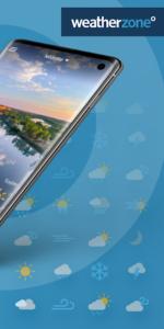 تصویر محیط Weatherzone v6.0.4