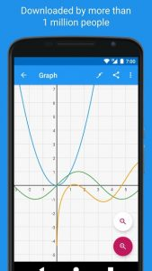 تصویر محیط Graphing Calculator – Algeo | Free Plotting v2.15