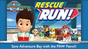 تصویر محیط PAW Patrol: Rescue Run v3.7 + data