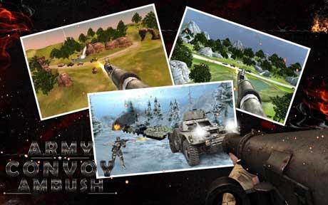 ARMY CONVOY AMBUSH 3D v1.1