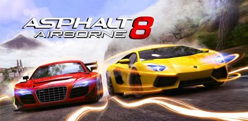 دانلود بازی Asphalt 8 Airborne v2.1.0l + data برای اندروید
