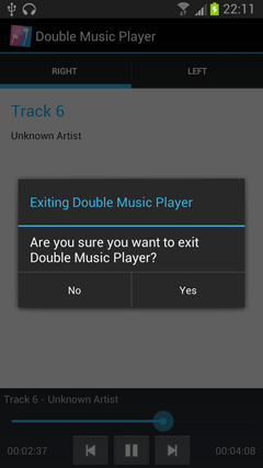 Double Music Player Pro v2.1