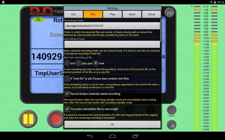 Field Recorder v7.1