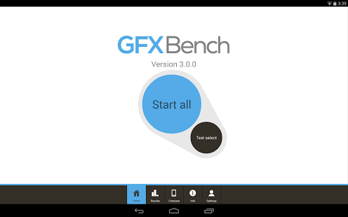 GFXBench GL Benchmark 3 3.0.32