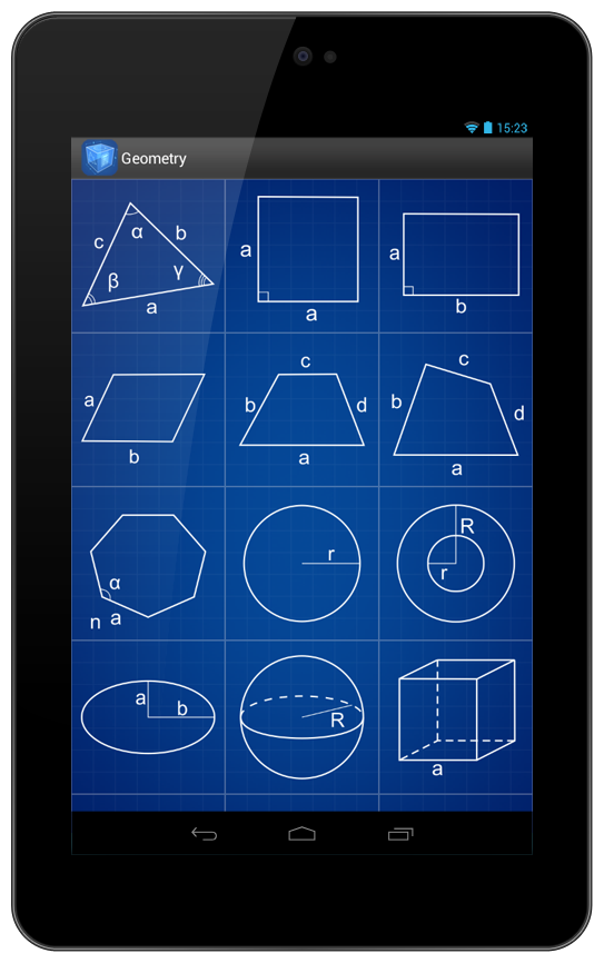 Geometry Calculator v2.4
