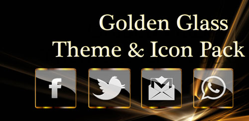 Golden Glass Nova Icon Pack v4.4