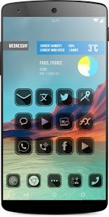 HOLE Icon Pack Launcher v2.0