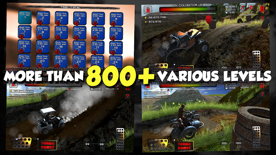 Hill Climb Racer Dirt Masters v1.05 + data