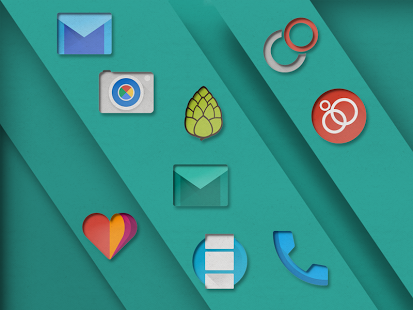 PaperCUT – Icon Pack v1.0