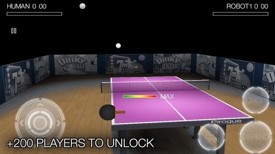 بازی موبایل پینگ پنگ