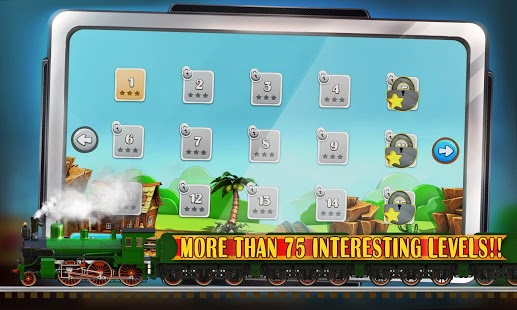 Puzzle Rail Rush HD v1.5.2