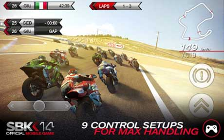 SBK14 Official Mobile Game v1.4.6 + data