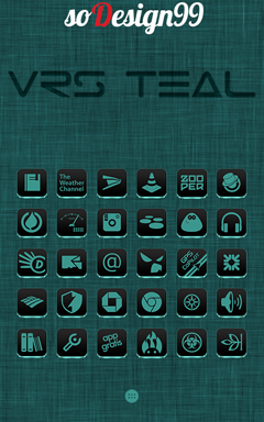 VRS Teal Icon Pack v1.0.0