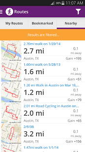 Walk with Map My Walk 3.6.1