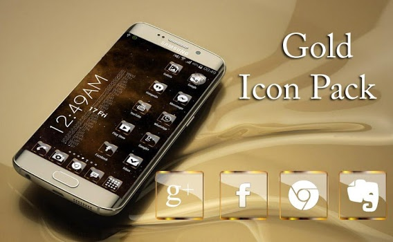 Golden Glass Nova Icon Pack v4.4