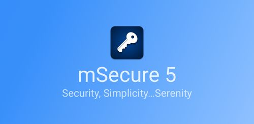 mSecure – Password Manager v5.5.6