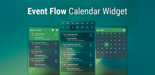 Event Flow Calendar Widget v1.8.1