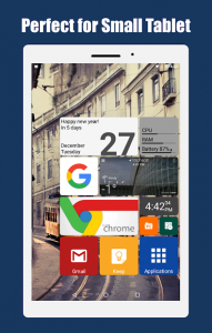 تصویر محیط Square Home 3 – Launcher : Windows style v2.0.2