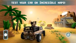 تصویر محیط Blocky Cars – Online Shooting Games v7.2.3