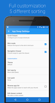 App Swap Drawer – T9 Search Premium v1.1.2.515